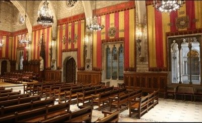 Accelleran dRAX™ in 5GCity adds indoor deployment of Small Cells inside Barcelona historical City Council building (Saló de Cent)